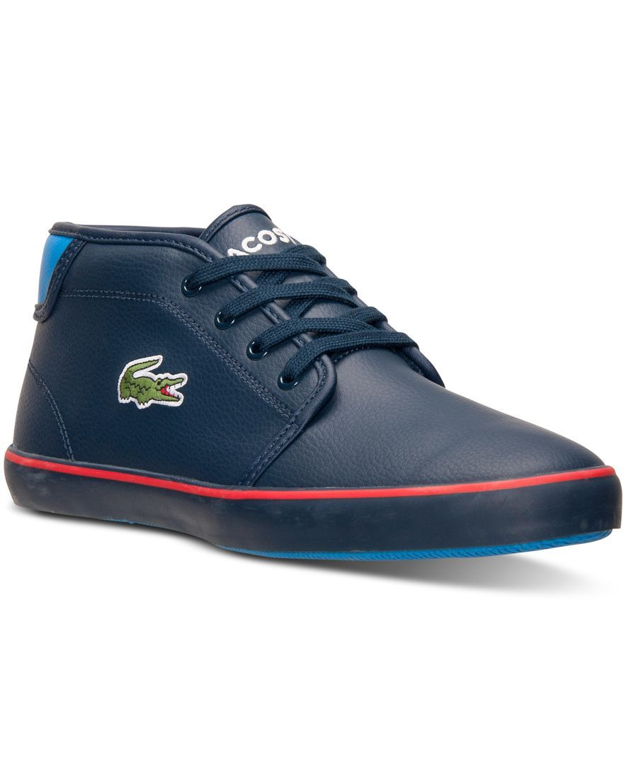 03dedb02d Lacoste Boys  Ampthill Chunk Casual Sneakers from Finish Line ...