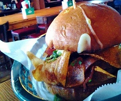 Blue Door Pub Longfellow S Baked N Loaded Blucy Favorite Dish Food Good Burger