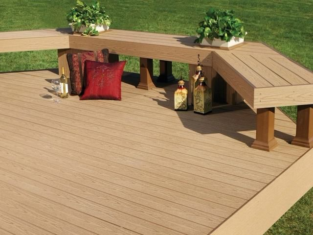 Attractive Recycled Plastic Boards Decks ,non Fading Wpc Decking Dubai #outdoor # Decking #