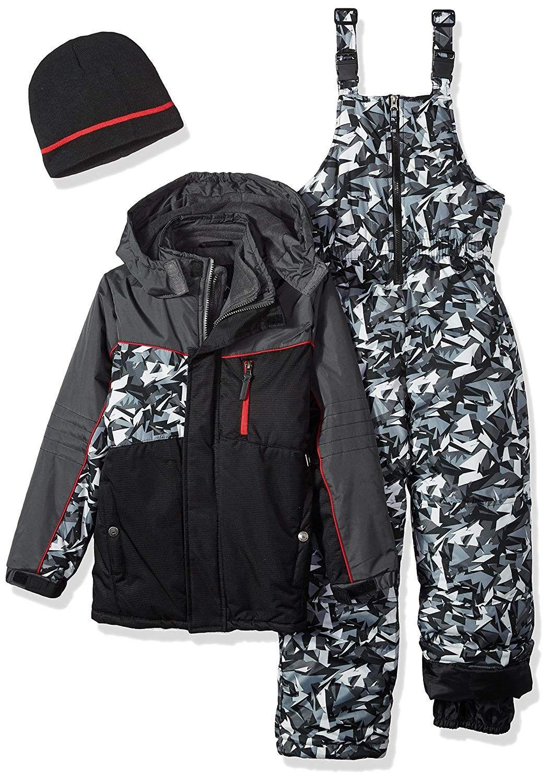 42aec15a028b8 Boys Camo Print Snowsuit W/2fer Vestee Detail - Black - CF17YD0AX4G - Boys'  Clothing, Jackets & Coats, Snow Wear #SnowWear #Boys' #Clothing # #Jackets  ...