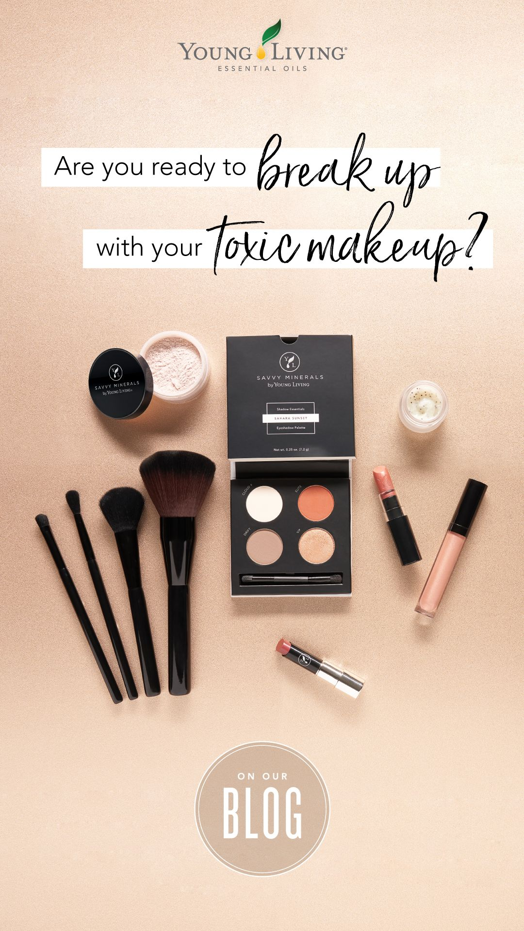 Are you ready to break up with your toxic makeup? Savvy