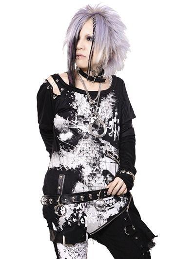 INSIST SKULL 2-Way Cutsew   CDJapan. See more at http://www.cdjapan.co.jp//apparel/sexpot.html #punk #japanesefashion
