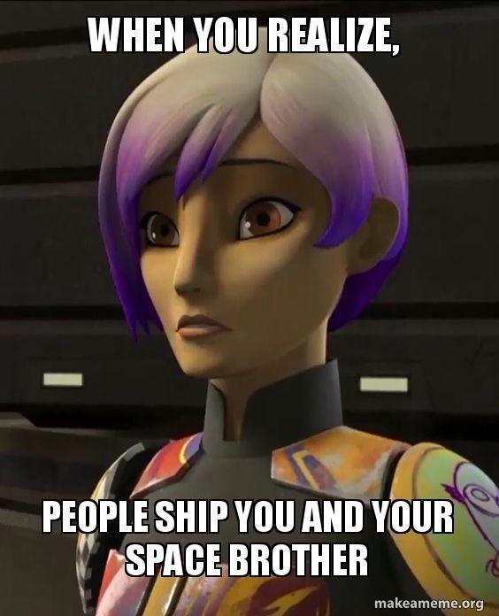 Star Wars Rebels Sabine Meme Star Wars Rebels Ezra Star Wars Rebels Star Wars Memes