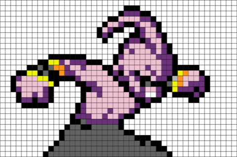 Dragon Ball Z Pixel Art Pixel Art Dragon Ball Z Dragon Ball