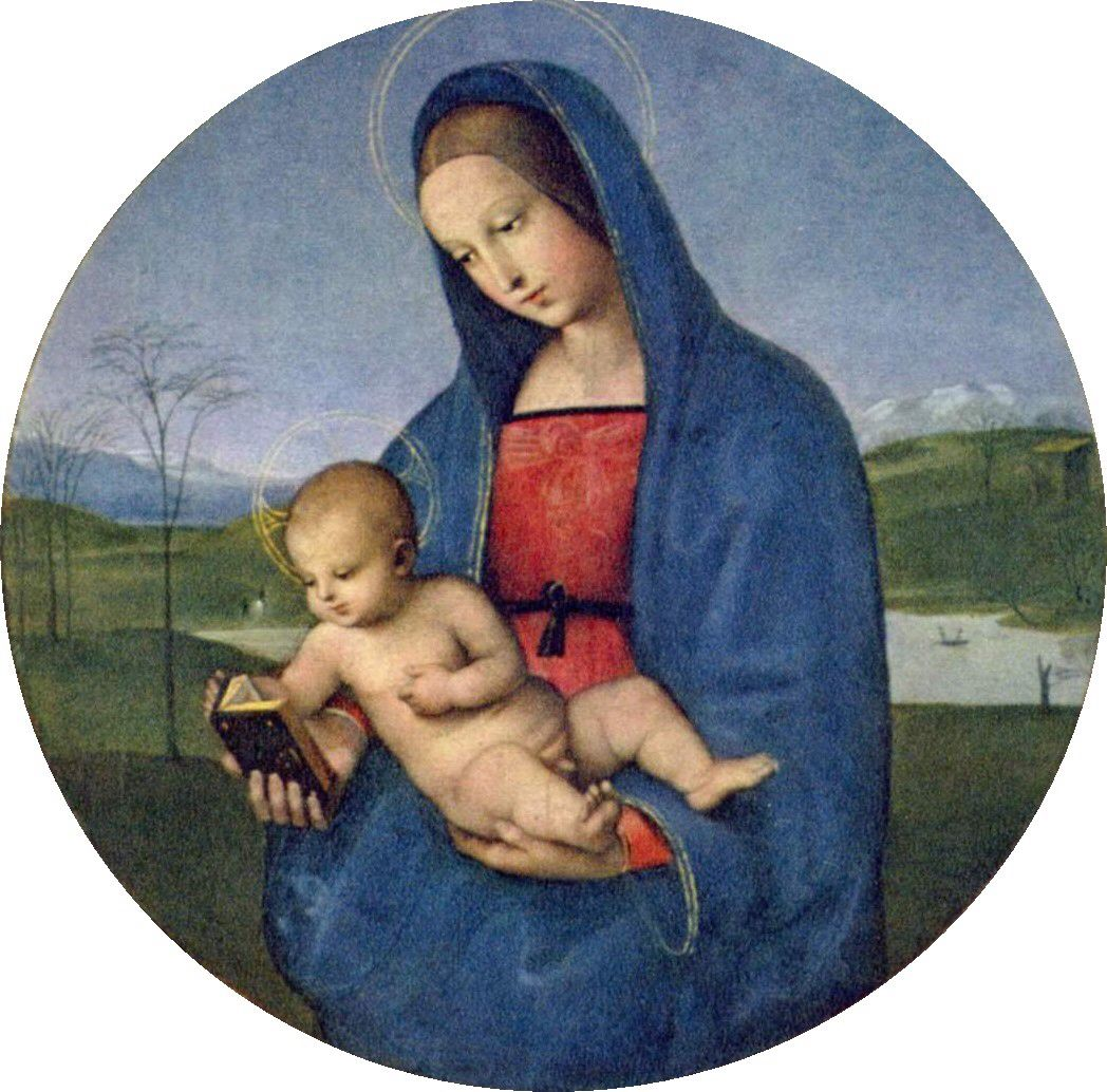 The Conestabile Madonna Is A Small And Probably Unfinished Painting By Italian Renaissance Artist Raphael