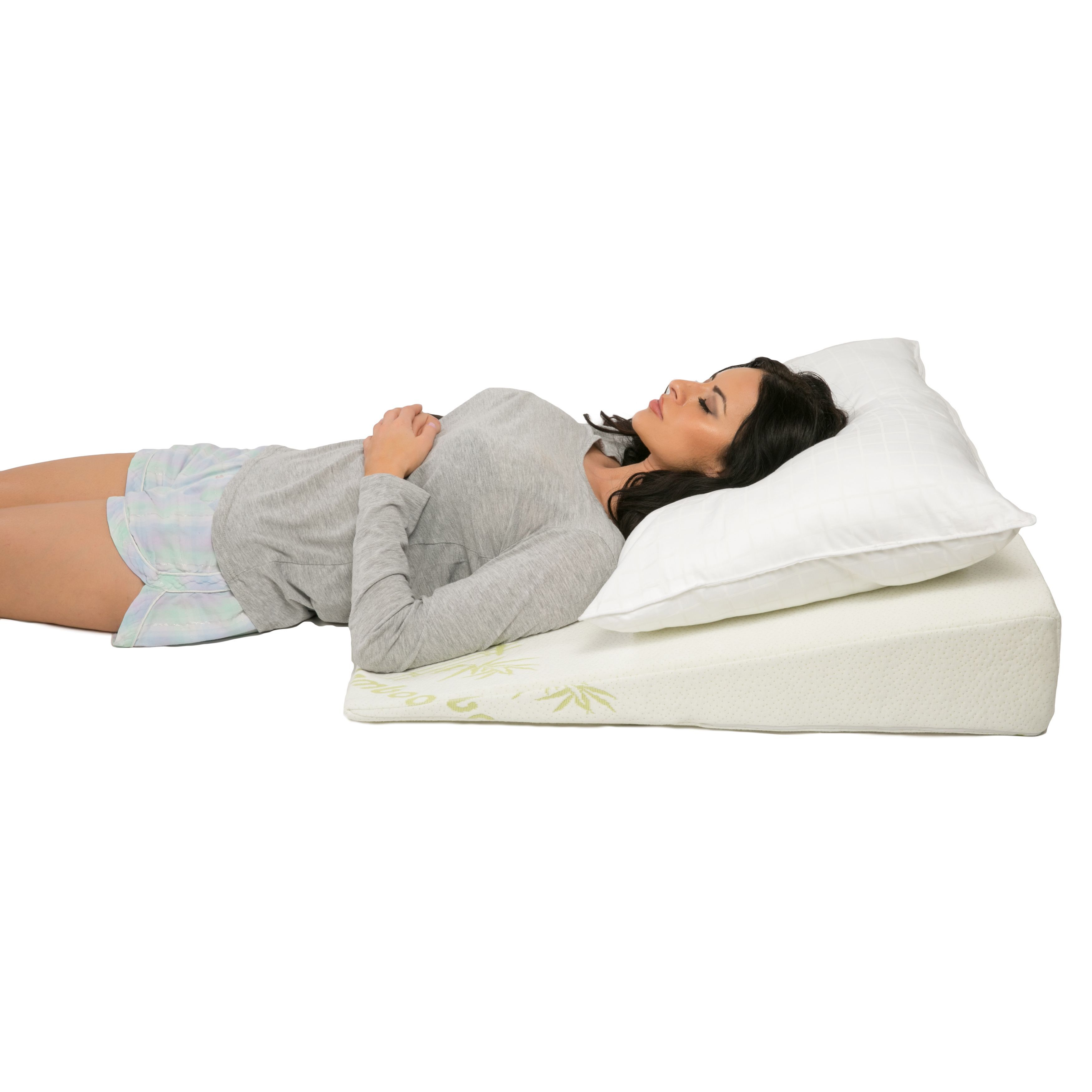 foam pillow folding leg support angel cushion wedge for back pin bed rest