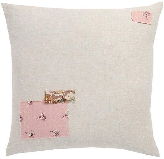 Couture Rachel Ashwell Shabby Chic Patchwork Pillow
