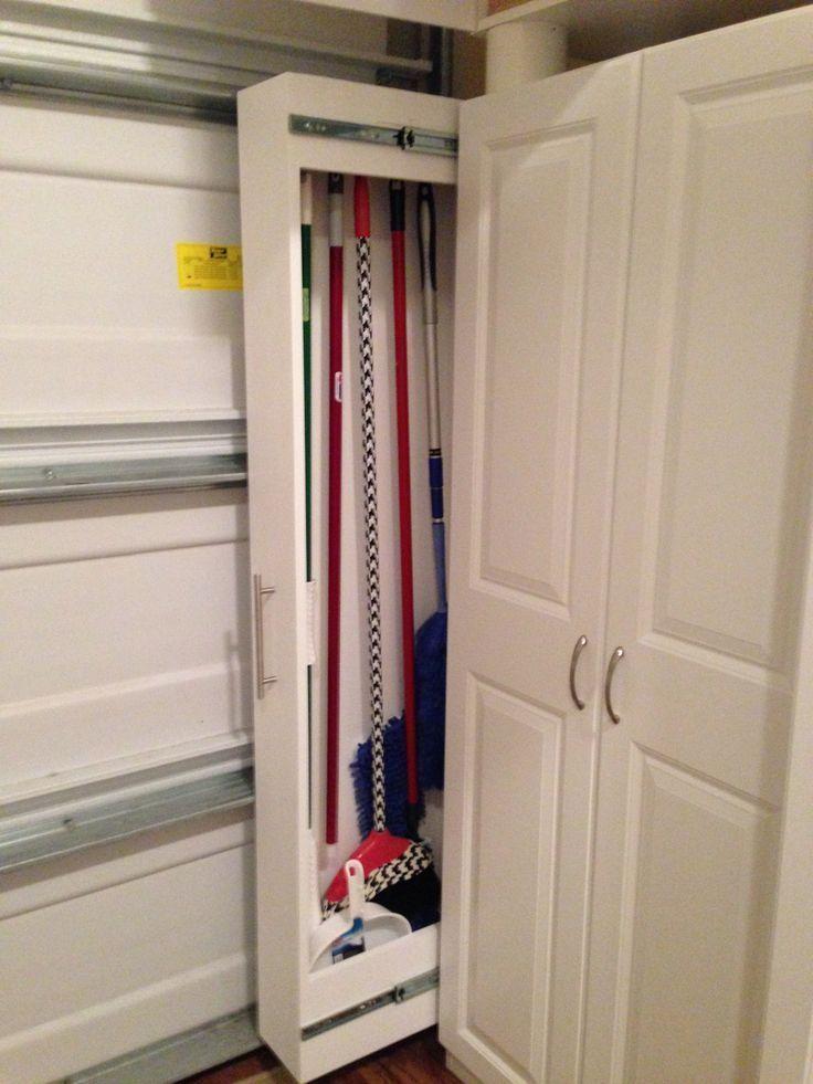 Beautiful Image Result For Broom Closet Ideas. Broom StorageCloset StorageCloset  OrganizationMops ...