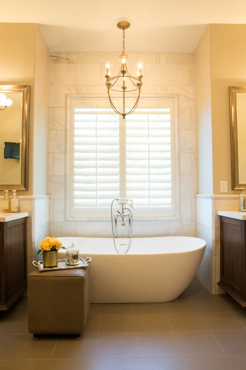 Stunning Free Standing Bathtub In This Luxury Bathroom Designed By Utah Based Interior Design Firm