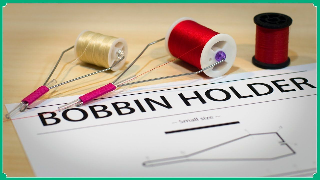 How to make a bobbin holder tool small size and big size