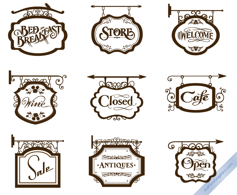 Vintage Store Signs I Vintage Store Signs Shop Signs Store Signs