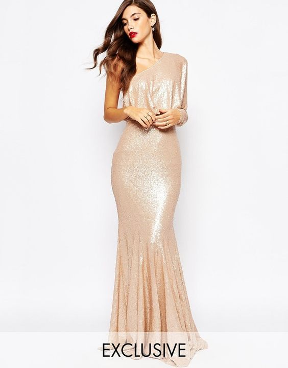 Forever Unique Tempest Sequin Maxi Dress | style | Pinterest