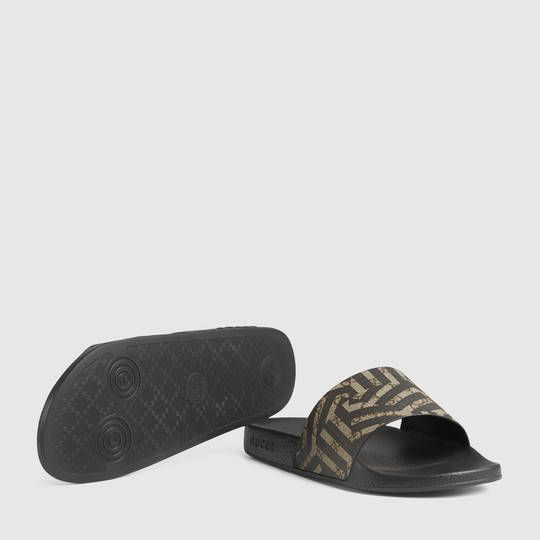 a9fd547be84  295 GUCCI SLIDES GG Caliendo Sandal SOLD BY GUCCI - affiliate - Slip-on  sandal