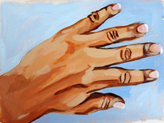 48+ Hands painting info