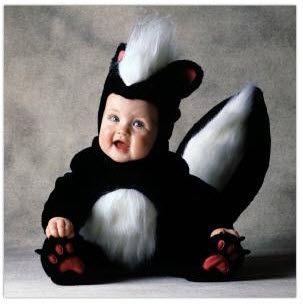Baby Halloween Costumes Animals.Skunk Infant Halloween Costume Baby Animal Costumes Baby Skunk Costume Cute Baby Costumes