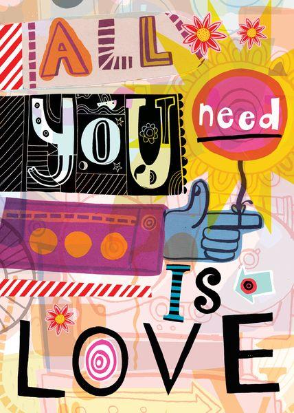 All You Need Is Love x Simon Wild
