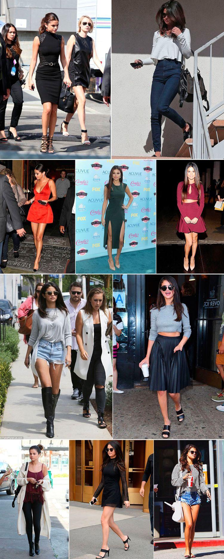 Estilo de Famosa: Selena Gomez