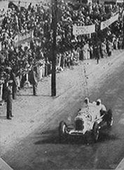 GP RIO DE JANEIRO (GAVEA) 1936 , Alfa Romeo 8C 2300 #22 of Manuel de Teffé  , reputedly painted in white and with co-driver...