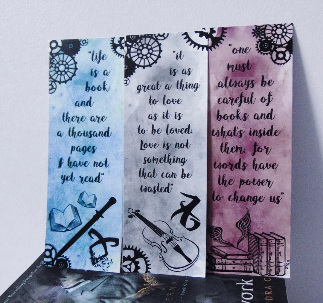 tmi, tid and tda's bookmarks   the mortal instruments in 2018