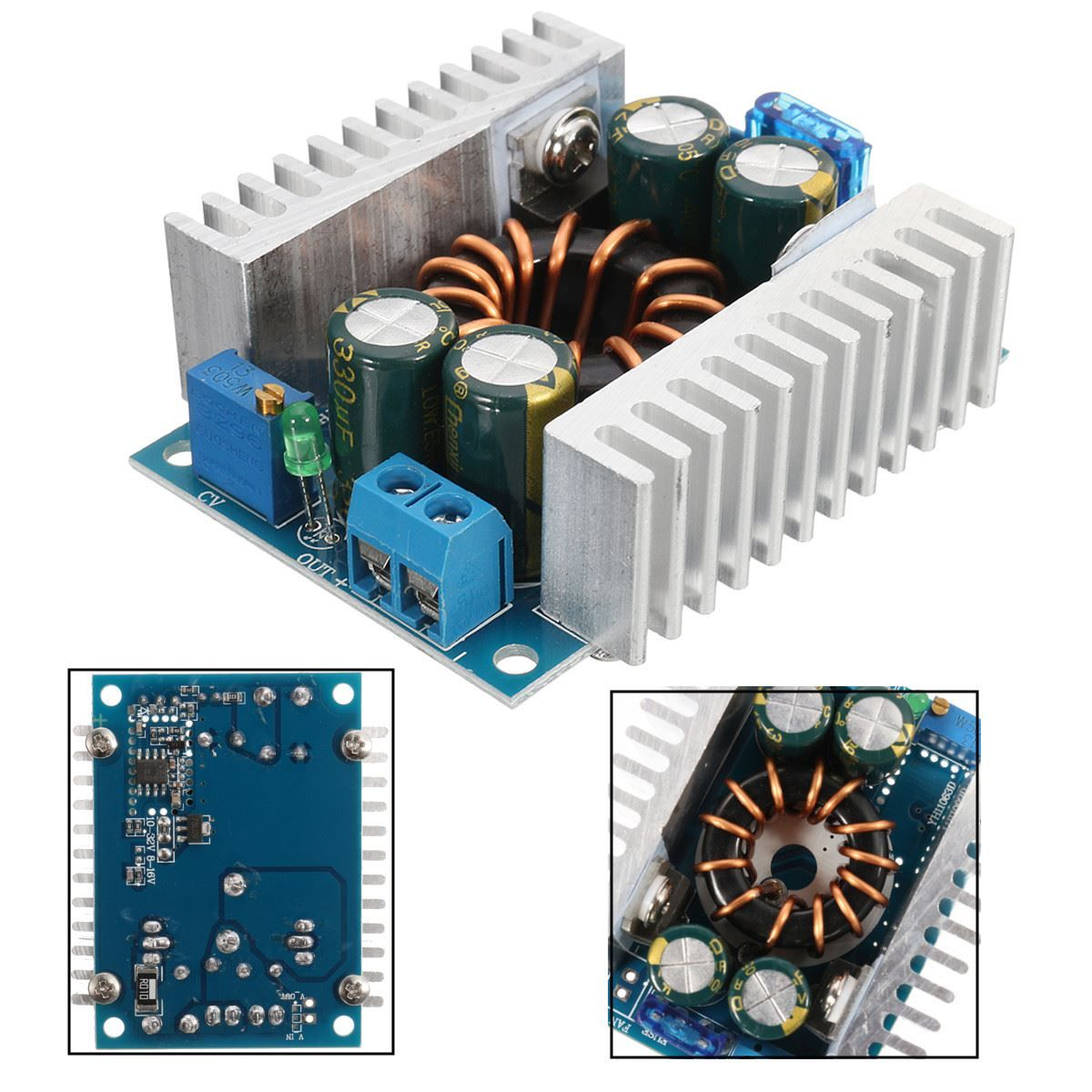 New Arrival Dc 3v 35v 0 10a Adjustable Digital Converter Step Up Semiconductors And Electronics In An Easy To Understand Boost Module