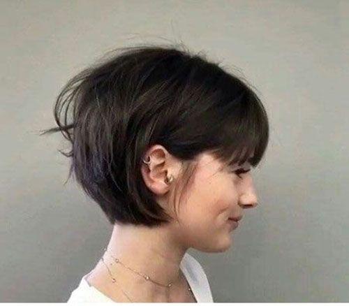 Frisuren 2020 Hochzeitsfrisuren Nageldesign 2020 Kurze Frisuren Short Hair With Bangs Thick Hair Styles Hair Styles