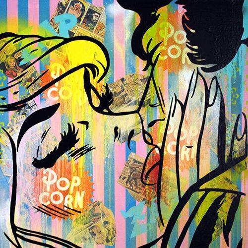 First Art Gallery Pop Art Painting - Just Trust Me by Scott Hynd