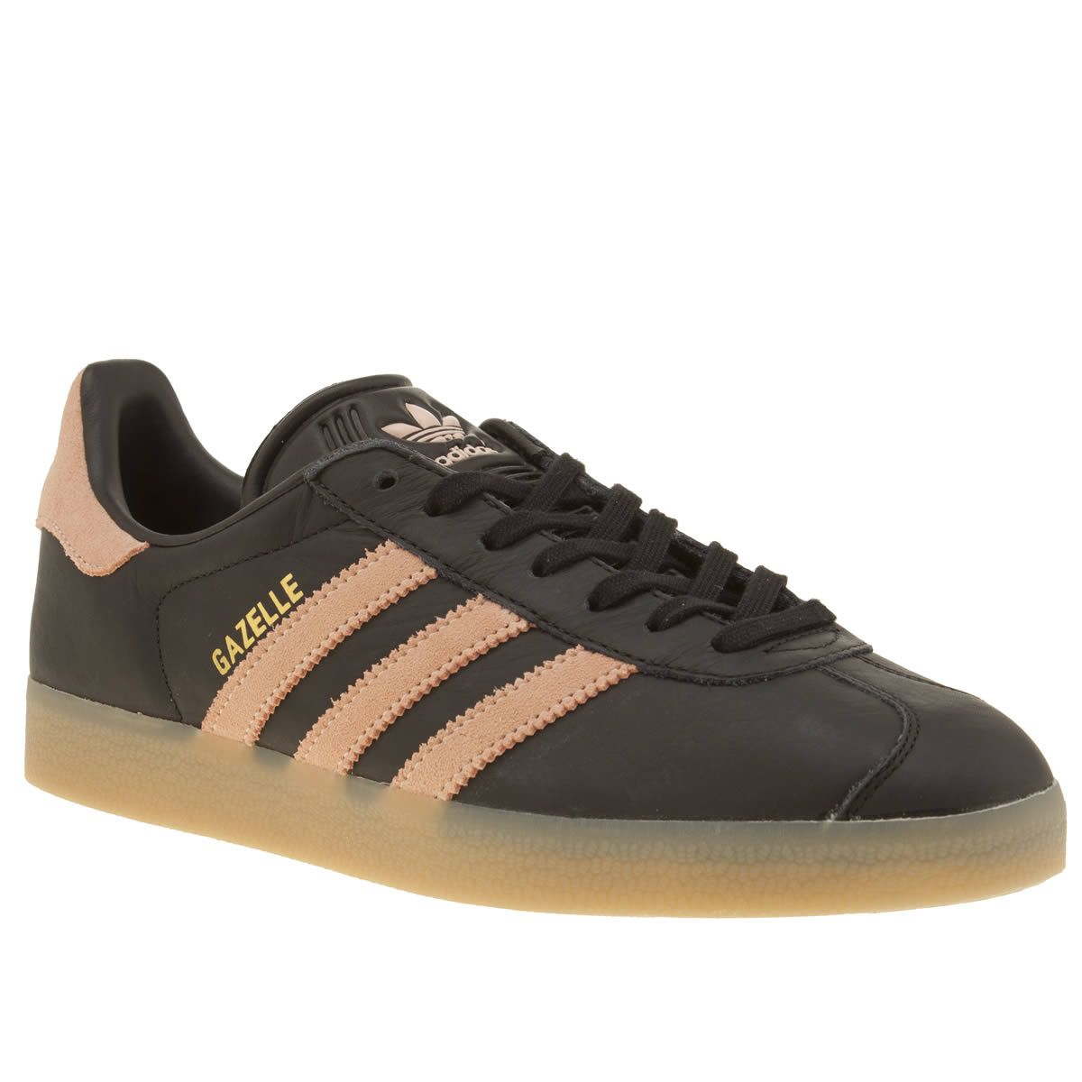 womens pink adidas gazelle trainers
