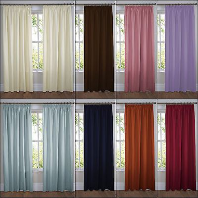 Ella premium quality #plain #lined tape top pencil pleat #curtains multiple colou,  View more on the LINK: http://www.zeppy.io/product/gb/2/231090645951/