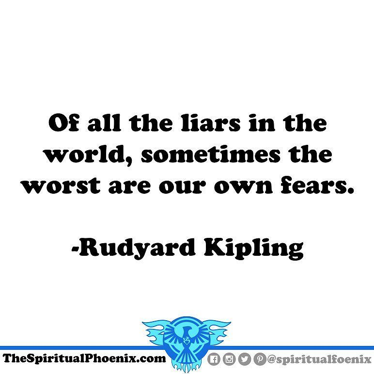 #rudyardkipling #fear #spirituality #philosophy #quotes ...