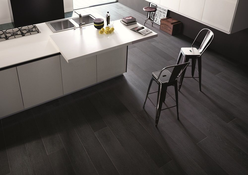 Black Wood (With images) Kitchen