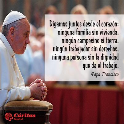 Resultado de imagen de reflexiones del papa sobre el trabajo