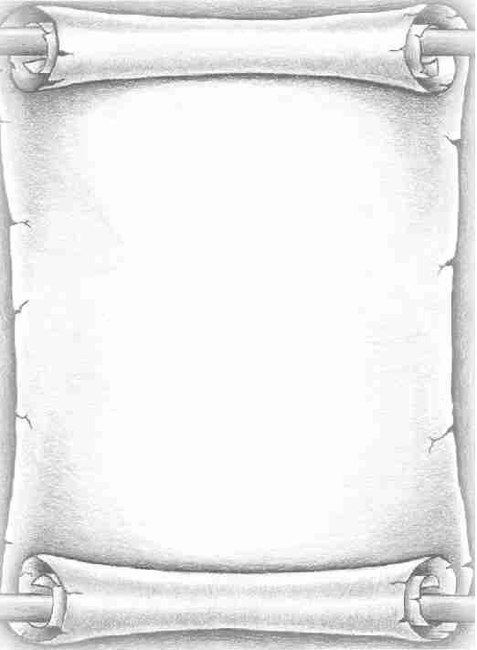 photograph regarding Scroll Paper Printable referred to as Scroll (blank) imágenes Scroll templates, Crafting paper