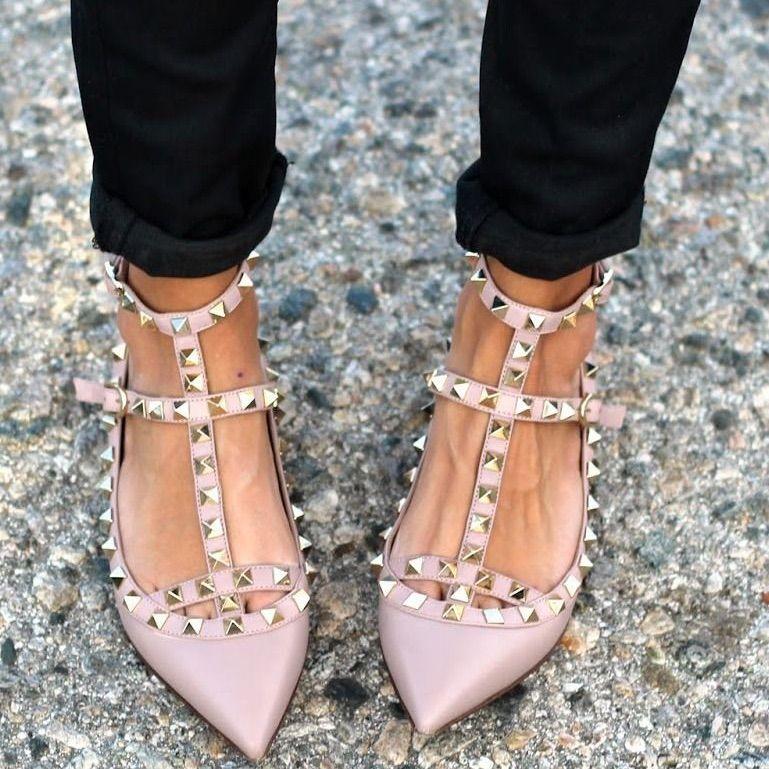 Valentino shoes, Heels, Valentino rockstud