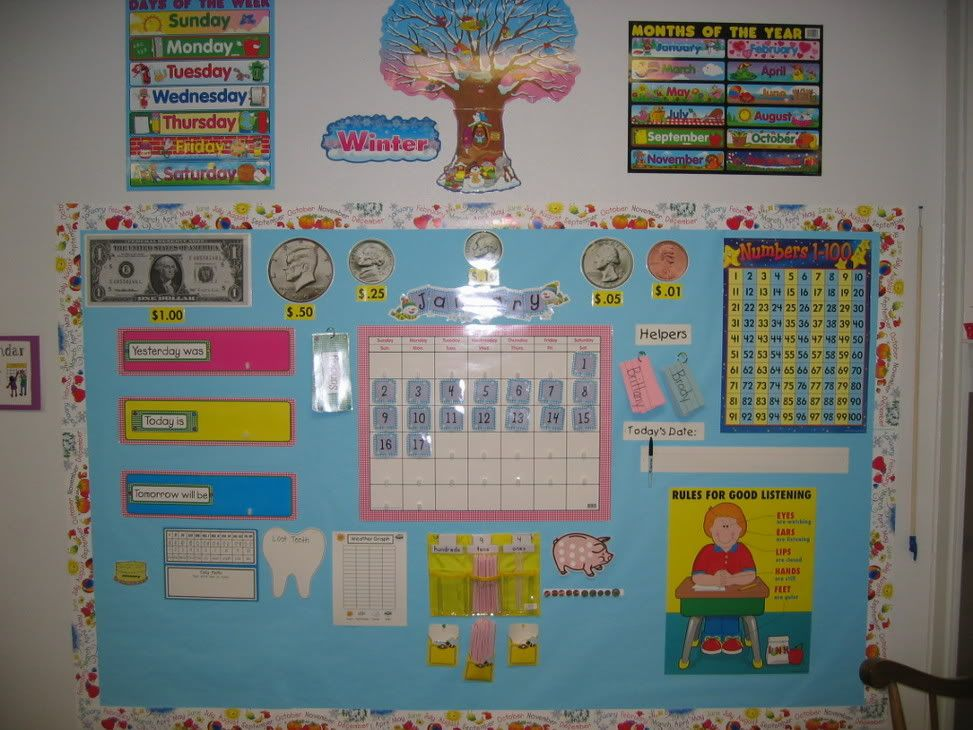 Classroom Start Up Ideas ~ Pictures of a crayon theme classroom
