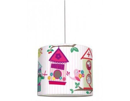 Pantalla lámpara bird's city girls