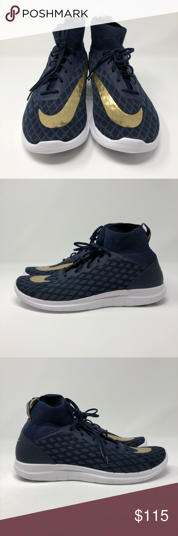 cb43c339d8fb purchase nike free hypervenom mid unboxing youtube 6960a 9537b  promo code nike  free hypervenom 3 fc fk navy gold shoes soccer style for street wear