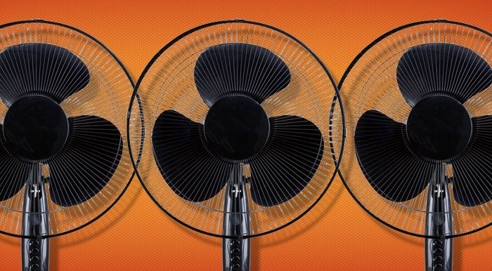 Fan Rentals: We've got some standing fans just in case you are not from Texas. Nothing fancy, but they get the job done.