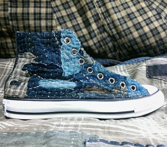 f56d18400464 High Top Sneakers ·  CONVERSE×Sashiko Boro  In order to get over it