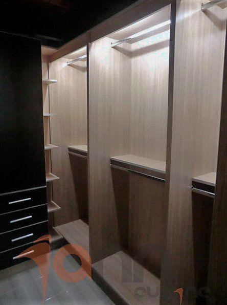 Closets modernos venezuela closets peque os walk in for Muebles de cocina modernos pequenos