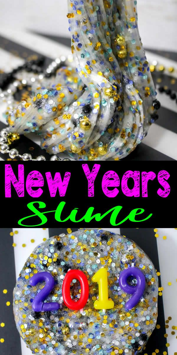 DIY Party Slime How To Make Homemade Sparkle Slime