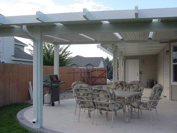 Charmant Boise Patio Covers Solid Lattice @ Patio Covers Unlimited