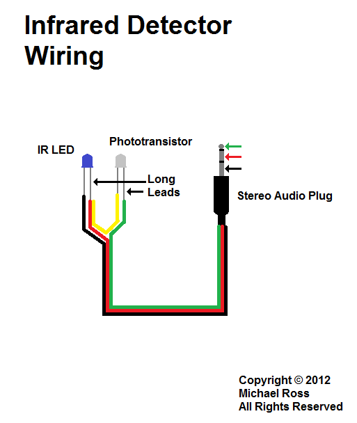 High Speed Trigger     Infrared    Detector Cable Wiring    Diagram      Maker   Pinterest   High speed and