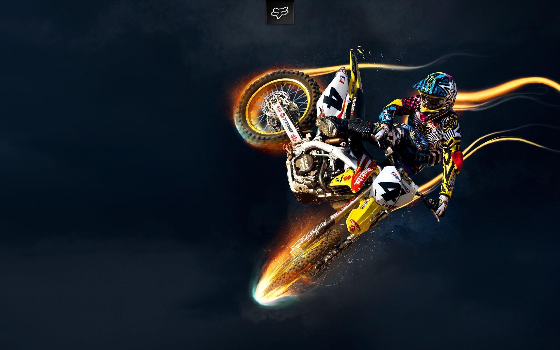 Suzuki Motocross Wallpapers Hd Wallpapers Suzuki Motocross