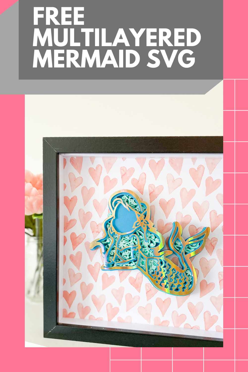 Free Mermaid Mandala Svg : mermaid, mandala, Awesome, Cricut!!!