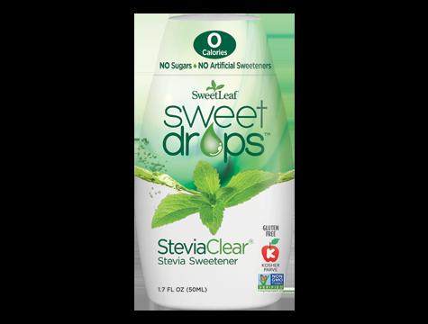Sweetleaf Sweet Drops 50ml Steviaclear Stevia Sweetener Ingredients Vegetable Glycerin Purified Water Stevia Lea Liquid Stevia Stevia Stevia Extract
