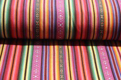 Stevige katoen canvasachtig, geschikt voor draagzakken, hangmatten, tassen, broeken, ... . Rolbreedte 150 cm...