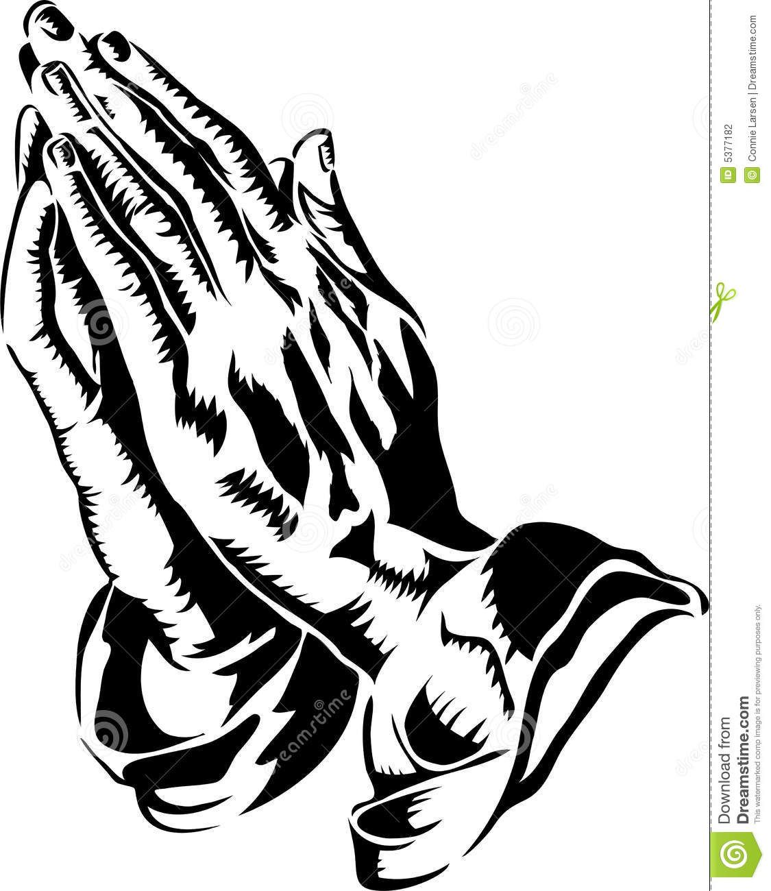 Displaying 18 Gt Images For Praying Hands Clipart Sketch Coloring Page