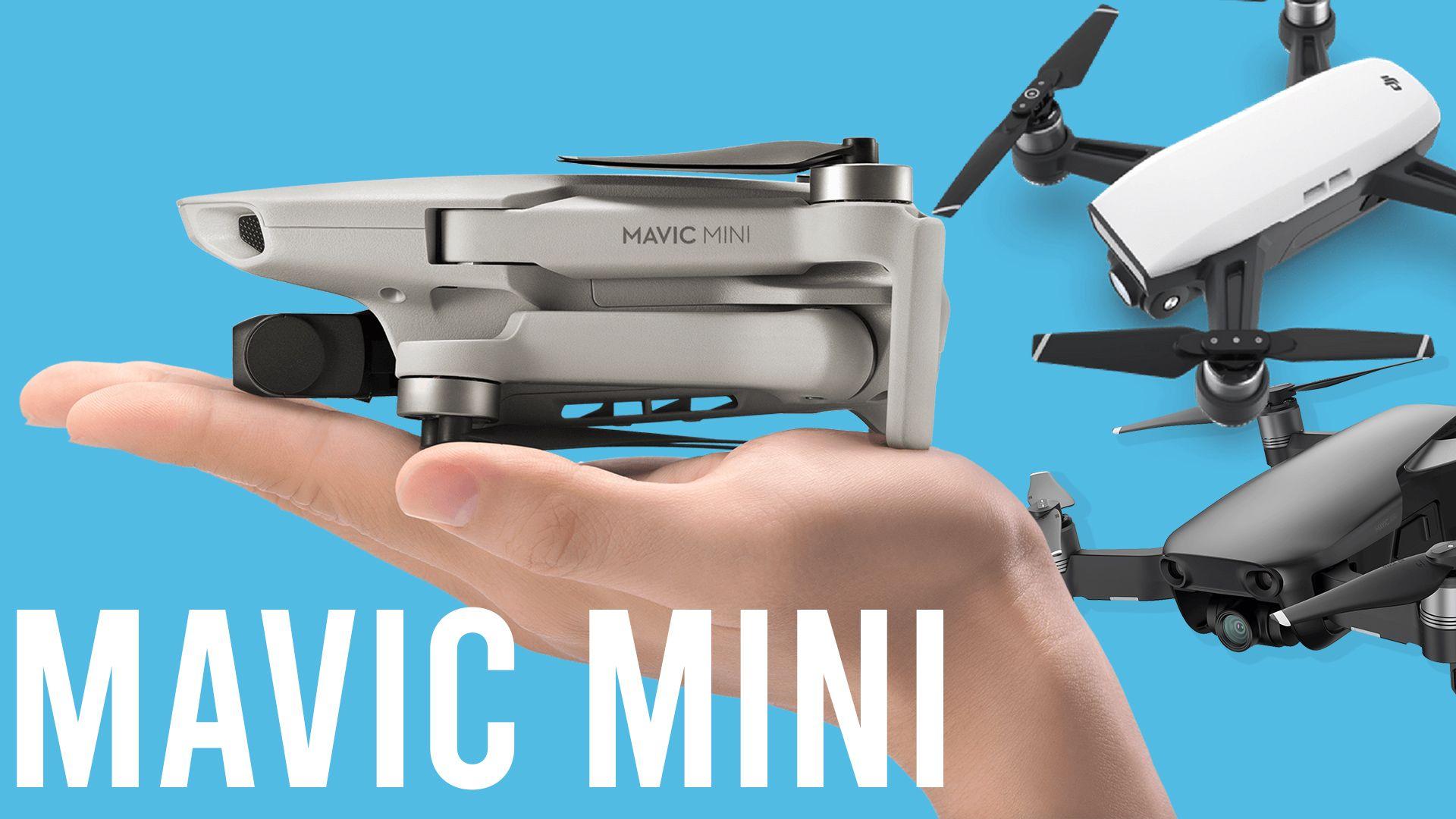 DJI Mavic Mini vs DJI Spark vs Mavic Air (table comparison
