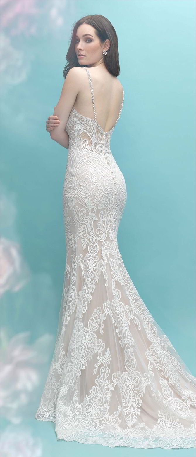 Allure Bridals Fall 2017 Wedding Dresses | Wedding dress, Wedding ...