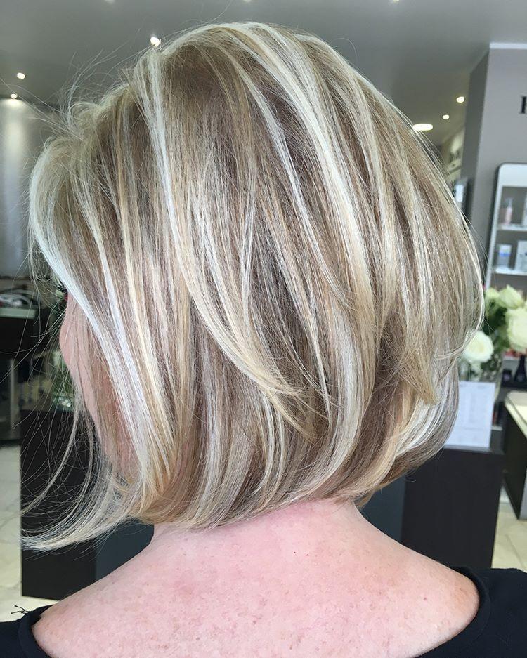 Lucia On Instagram We Love The Bob Longbobhaircut Blondehair Arcari Arcaridusseldorf Salon Friseu Hair Styles Layered Bob Hairstyles Bob Hairstyles
